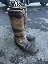 GENUINE Dubarry Galway Ladies Leather Brown Gortex Boots Size 8 (EU 42)