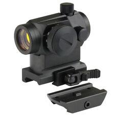 Dual Illuminated Micro Red Dot Sight w/ QD Riser & Low Profile Mount 223/556