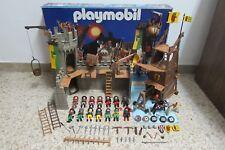 Playmobil - Medieval - Castillo Torre Asalto Caballeros - 3123 - (COMPLETO) OVP
