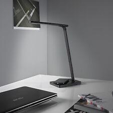 LED Schreibtischleuchte mit Ladestation USB 5 Volt Bürolampe dimmbar Schwarz T96