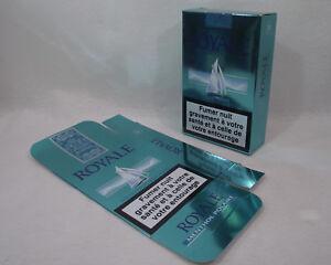 Publicité Cigarettes ROYALE MENTHOL POLAIRE grand paquet 2005-2008 Alatdis seita