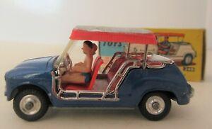 Corgi Toys 1960's Fiat 600 Jolly Canopied Beach Car Coachwork by Ghia