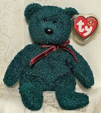 Ty Beanie Baby Christmas Holiday 2001 TEDDY Bear Collectible Sparkle Plush Toy