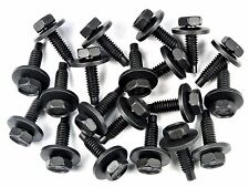 "Ford Truck Body Bolts- 1/4-20 x 15/16"" Long- 7/16"" Hex- 3/4"" Washer- 20 pcs #174"