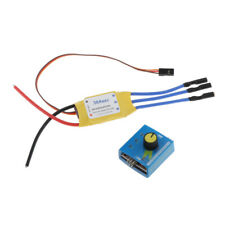 30A ESC w/ Motor Speed Controller Governor 3-phase PWM for RC Airplane Parts