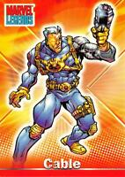 CABLE / Marvel Legends (Topps 2001) BASE Trading Card #26