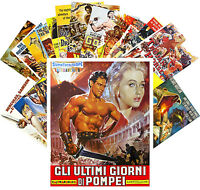 Postcards Pack [24 cards] Peplum Vintage Action Trash Movie Poster CC1070