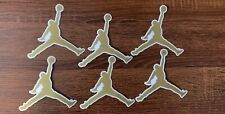 NEW Air Jordan Jumpman Sticker - Color Gold - Size 4.25IN DS 2020 6 Decals.