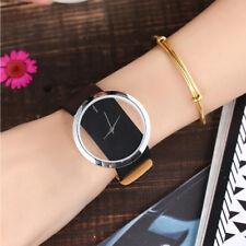 Women Ladies Popular Beautiful Leather Strap Watch Analog Quartz Novelty Watches