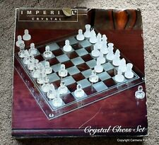 Crystal Chess Set Made By Imperial Insides still SEALED!