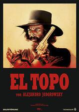CASA Wall Art Print-VINTAGE MOVIE FILM POSTER-EL TOPO-a4, a3, a2, a1