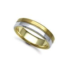 Wedding Band Multi-Tone Gold Fine Rings