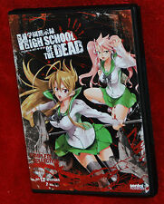 High School of the Dead Complete Collection DVD 2-Disc HIGHSCHOOL H.O.T.D. ANIME