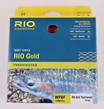 Rio Gold Tournament Fly Line WF6F Orange Free Fast Shipping 6-21797