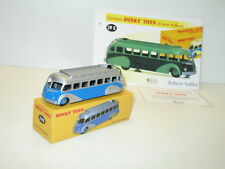 dinky TOYS, Bus isobloc BLUE, DINKY atlas ref 29 E