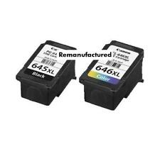 Rem. PG-645XL PG645XL + CL-646XL ink cartridges for Canon MG2560 MG2960 MG3060