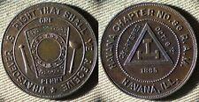 Token : Masonic Havana Ch. 86 RAM Havana ILL IRTM719