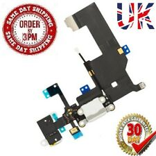iPhone 5 White Charging Port Replacement Charger Flex Cable USB Dock Mic cable