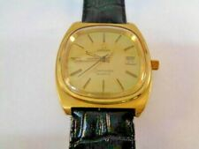Watch Vitaje Omega Seamaster Mens Watch Date Quartz Gold