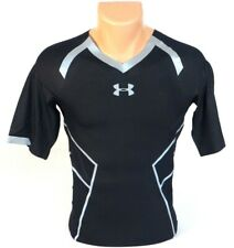 Under Armour NFL Combine Authentic Black & Blue Compression Shirt Men's NWT