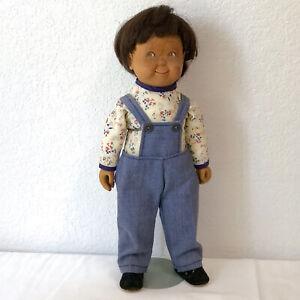 """Beckett Original 1978 """"Tommy"""" 12"""" Wooden Doll Original by Bob Beckett"""
