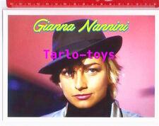 GIANNA NANNINI - postcard - cartolina