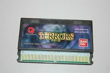Terrors japan Bandai Wonderswan Game