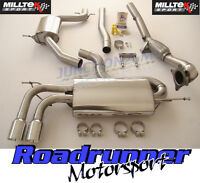 Milltek Golf GTi MK5 Edition 30 Exhaust Turbo Back System Res & De Cat Downpipe