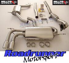 Milltek Golf GTI MK5 edición 30 De Escape Turbo Sistema de respaldo Res & de Cat Bajante