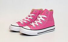 1a839b7a787 Converse All Star Hi Youth 3J234 Pink Kids US Size 11.5 Euro