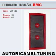 FILTRO ARIA SPORTIVO BMC AUDI A3 8P1 8PA 1.6 TFSI FSI SPORTBACK 384/20
