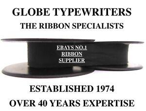 🌎 1 x 'SILVER REED SILVERETTE' *BLACK* HIGH QUALITY TYPEWRITER RIBBON