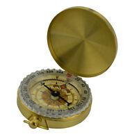 Design Kompass Outdoor Orientierungskompass kleiner Messing Compass