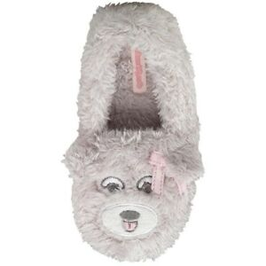 Teddy Bear Slippers Super Snug Board Angels Kids Size 10-13