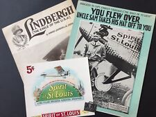 Charles LINDBERGH (Aviation): Sheet Music and Ephemera Archive