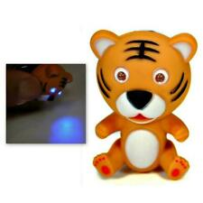 LED TIGER KEYCHAIN with Light and Sound Cute Animal Roaring Noise Key Chain Ring
