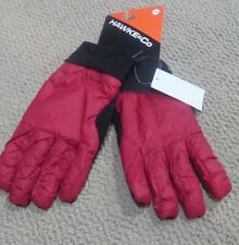NEW Hawke & Co Men's Gloves Lightweight Nylon Gloves Fractal RED LARGE XL