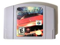 Roadsters Nintendo 64 N64 Game Tested + Working & Authentic!