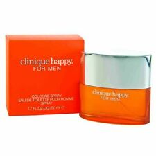 Clinique Happy Cologne Spray Eau de Toilette for Men Perfume 50 ml New