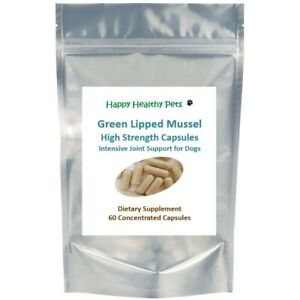Premium Strength Green Lipped Mussel for Dogs for Joint Pain Stiffness Arthritis