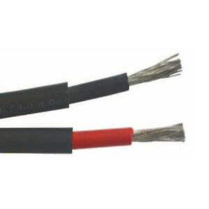 Solar DC Cable 4mm Twin for Solar System Installation - Per Meter