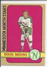 1972-73 OPC OPEECHEE Doug Mohns #75 - no crease
