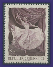 """1967 AUTRICHE N°1067a """"dentelé 12"""" ,VALSE ,DANSE, AUSTRIA, DANCE, Perf 12 MNH"""