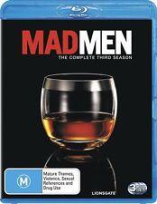 Mad Men Season 3 : NEW Blu-Ray