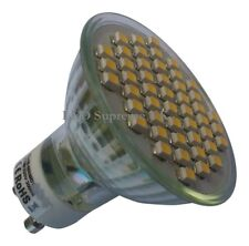 GU10 48 SMD LED 3.5W 210LM Dimmable Warm White Bulb ~45W