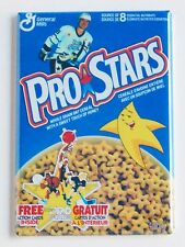 Pro Stars FRIDGE MAGNET (2.5 x 3.5 inches) cereal box hockey wayne gretzky