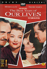 The Best Years of Our Lives - Myrna Loy Frederic March (NEW) Classic DVD