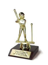 T-ball, Female Trophy- Batter- Team Award- Desktop Series- Free Lettering