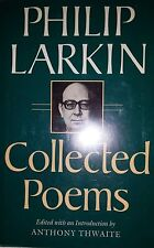 PHILIP LARKIN COLLECTED POEMS BY PHILIP LARKIN  *FIRST US ED*