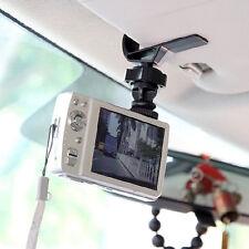 Black Gopro Car Sun Visor Clip Holder for GPS Camera Accessories Truck Vehicle